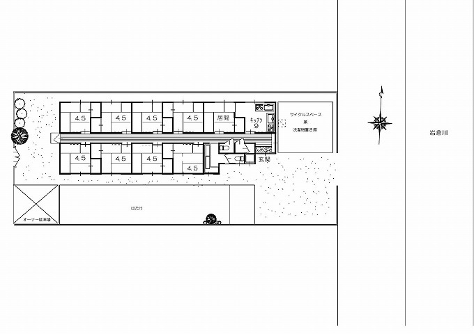 改装OK1棟貸しアパート 自分の世界作れます!!! 9.8万円