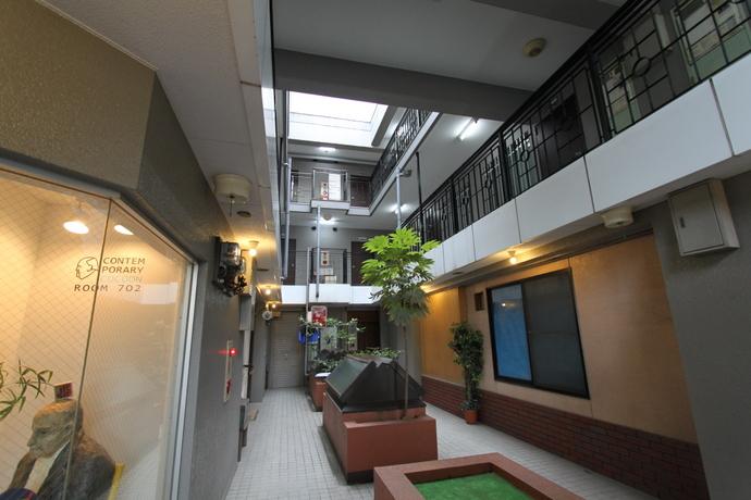 緑とビルと珈琲と 北白川複合ビル ワンルームとテナント