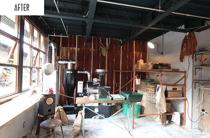 CLAMP COFFEE(サラサのコーヒー焙煎所兼コーヒーショップ)