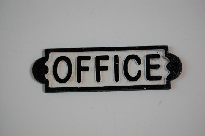 OFFICEサインプレート¥972