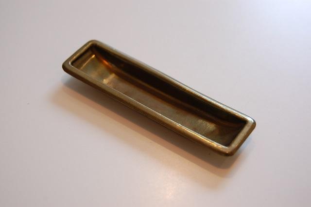 真鍮プレス船底引手S釘穴なし(K-堀5) ¥324