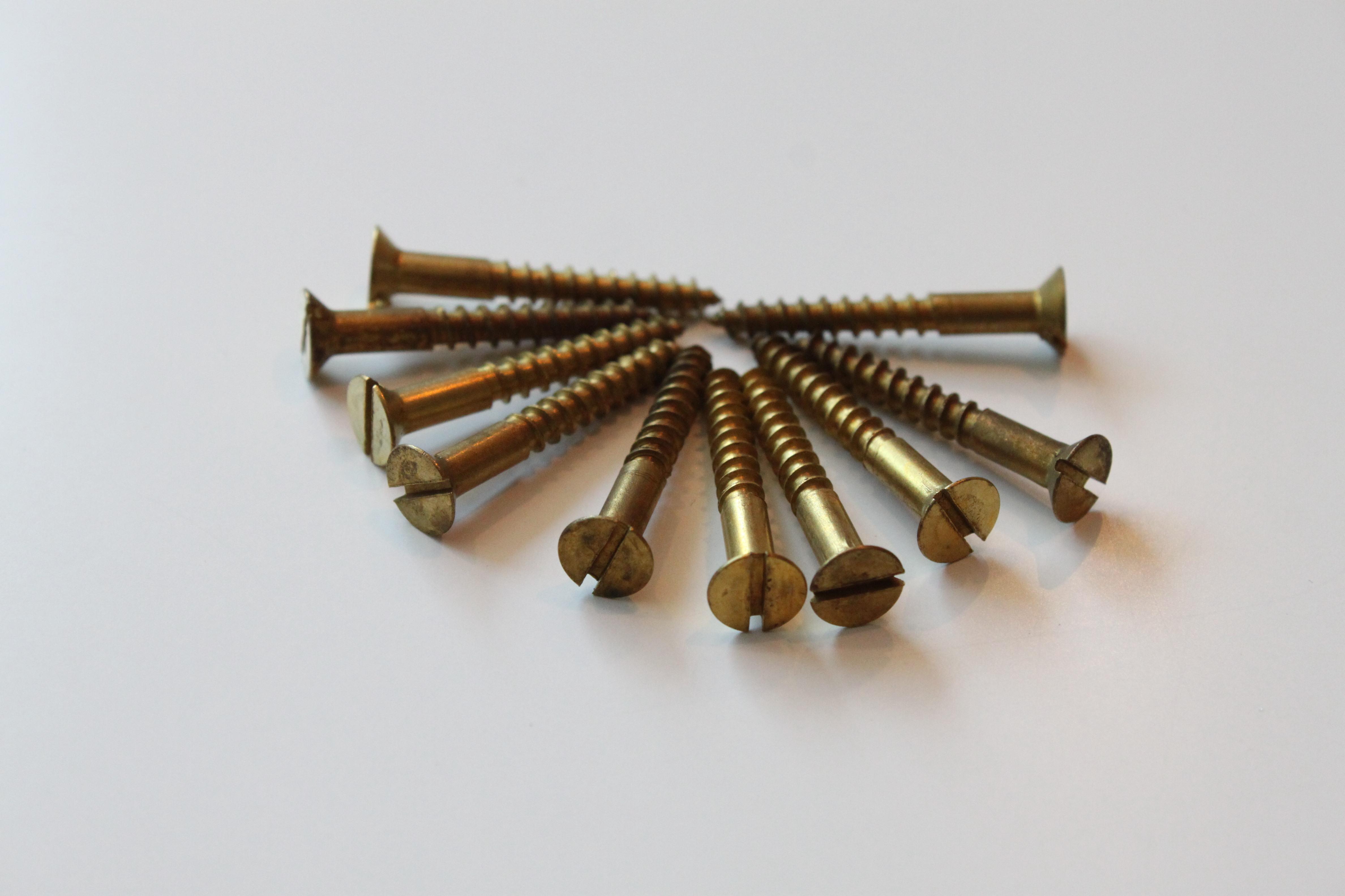 マイナス木捻子4.1×32mm(K-堀8)¥453