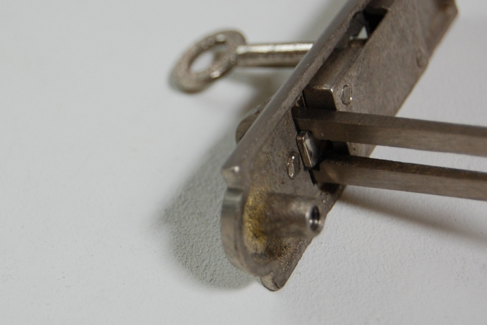 鋳物栓錠《K-堀1》¥2.700