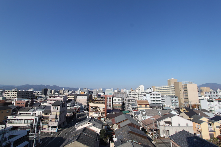 見上げるとそこに空 中京区壬生相合町  5万円