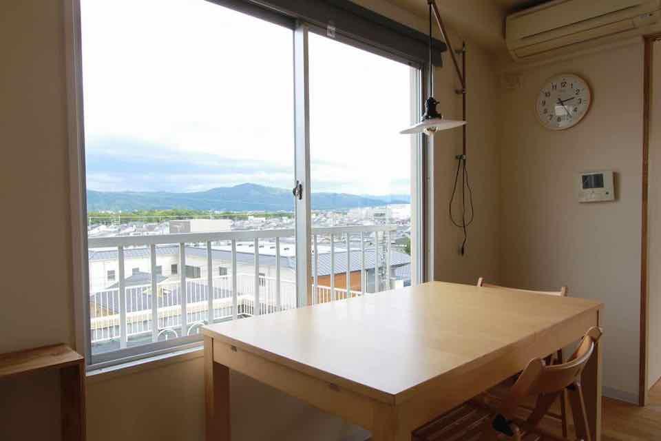 【再登場!】家具付、青空付賃貸マンション 京都市北区小山 8万円
