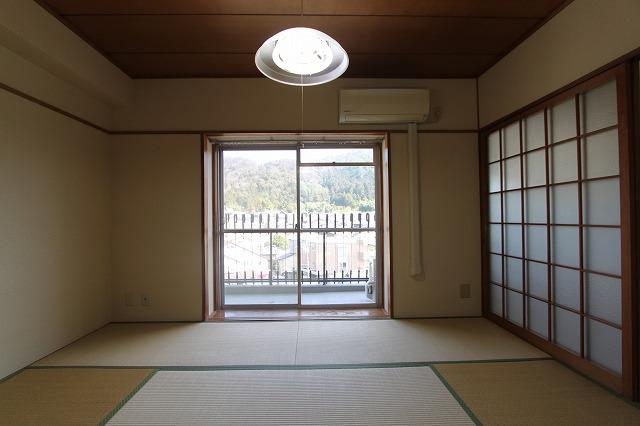 【お部屋の中内覧できます】京都のヴィンテージマンション「シャトー銀閣」6階角部屋 左京区銀閣寺前町