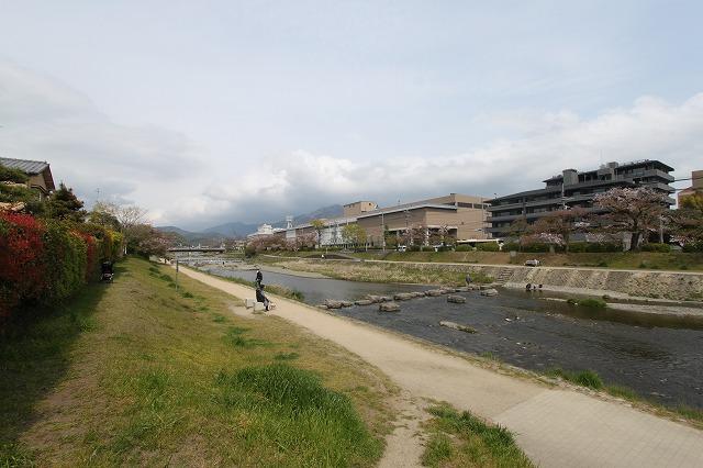 徒歩1分で高野川 下鴨蓼倉町テラスハウス