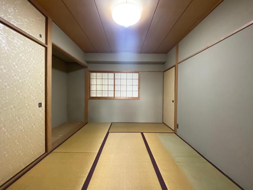 銀閣寺で一番見晴らしのいい部屋といっても過言ではない 左京区銀閣寺
