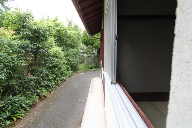 岩倉具視の幽居した場所 近所です。