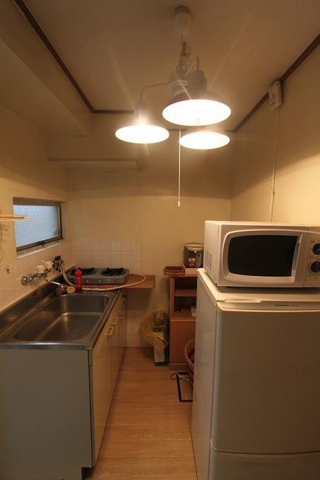 家具置いときました! 留学生、短期で借りる方大歓迎! 京都市左京区