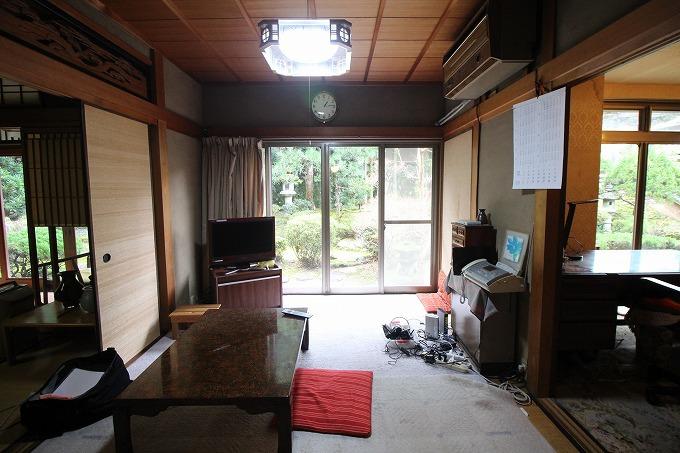 私の持論は「広いのがええ」 京都市左京区上高野