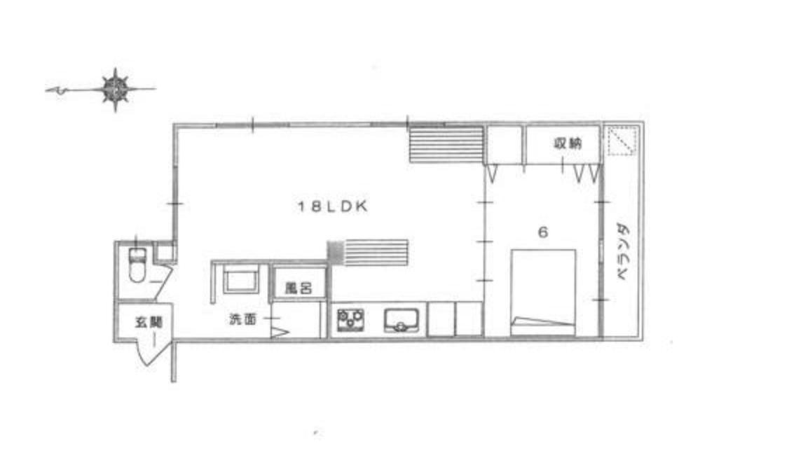家具つき、青空つきマンション 京都市北区小山