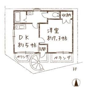 テンジンリバーサイドです。5.8万円。