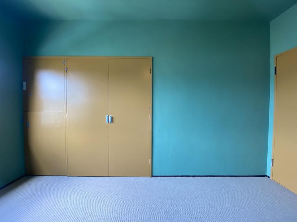 水面が輝く、リノベ―ションビンテージマンション 嵐山ロイアルハイツ