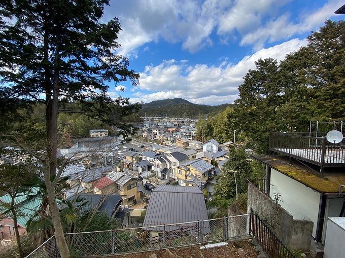 斜面の家 池付き 京都市左京区岩倉